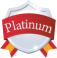 Badge platinum