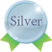 Badge silver